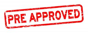 pre-approval from you bank requires more criteria